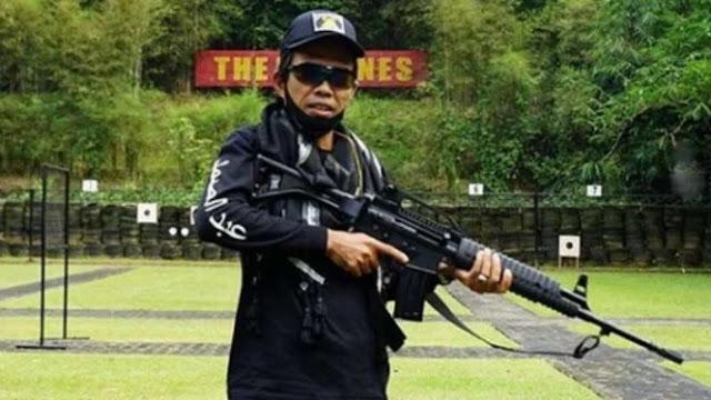 Tak Cuma Jaga Nyawa, Marinir TNI Pinjami Ustad Abdul Somad Senjata