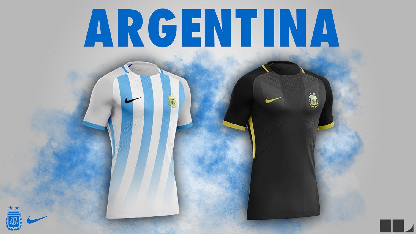 bb881d44c1 Designer cria camisas das seleções da Copa do Mundo inspiradas na Nike -  Grupo D