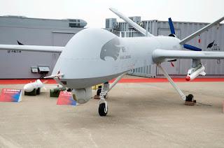 Drone Serang Wing Loong