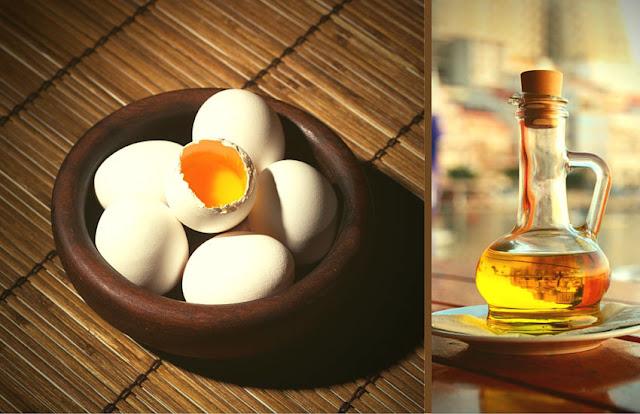 Egg Yolk With Olive Oil