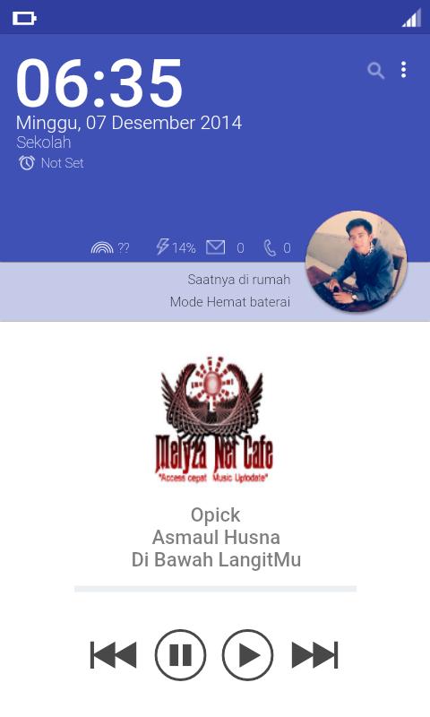 Cara Membuat Music Player Dengan Menggunakan Zooper Widget - Kang Ghani