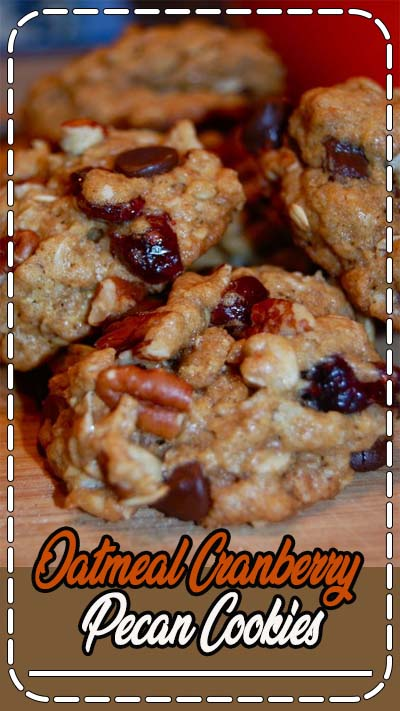 These Oatmeal Cranberry Pecan Cookies have a chewy, moist consistency and are packed with a mix of favorites: rolled oats, chocolate, pecans, and cranberries. Perfect for holiday baking! Recipe and photos updated December 20, 2015. The holidays have crept up on us. Well, maybe just me. I've seen holiday recipes on Pinterest since July. Here'sRead More »