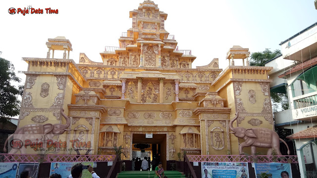 Durga Puja Pandal Decoration