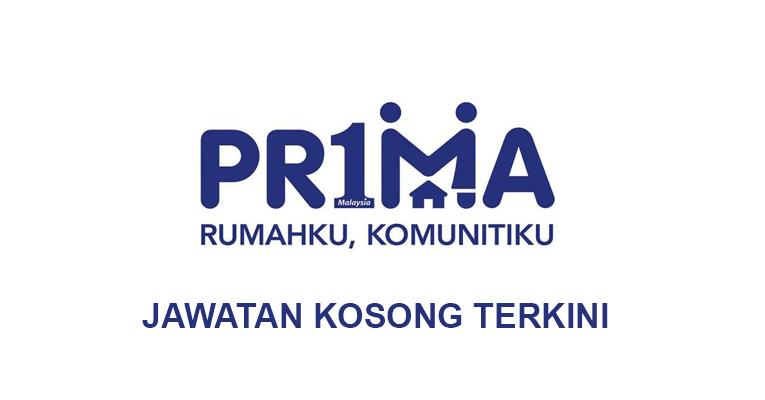 Jawatan Kosong di Perbadanan Pr1ma Malaysia