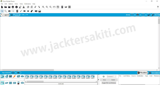 Pengenalan Simulator Jaringan Cisco Packet Tracer