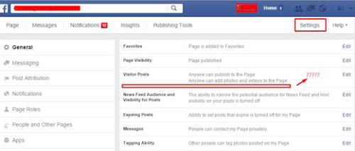 facebook page verification trick