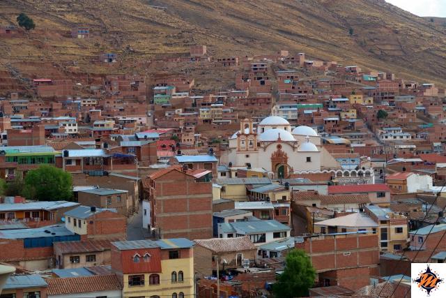 Potosí, vista panoramica