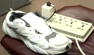 Smart shoes designed by Shanzar Munir