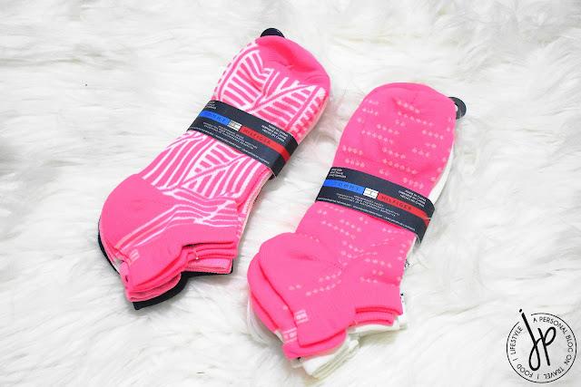3-pack socks, pink socks
