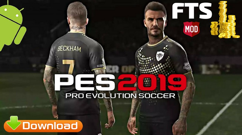 Pes 19 Mod FTS Mobile Apk + Data for android - تقني-Tqny