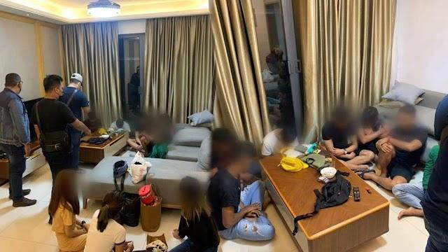 12 remaja lepak sambil hisap dadah dikompaun RM18,000