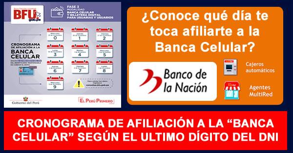 Bono 600 soles: cuándo puedo cobrar por banca celular del Banco de la Nación