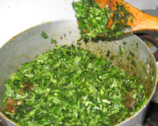 cooking afang soup step by step pictures 06