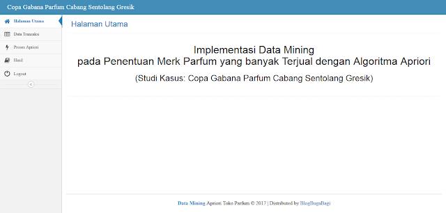 PHP Data Mining Algoritma Apriori Pada Toko Parfum