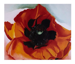 Red Poppy No. V -1928- Georgia O' Keeffe