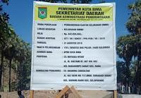 Pekerjaan Proyek Kantor Kelurahan Oi Mbo Senilai Rp642 Juta, Tuntas 100 persen