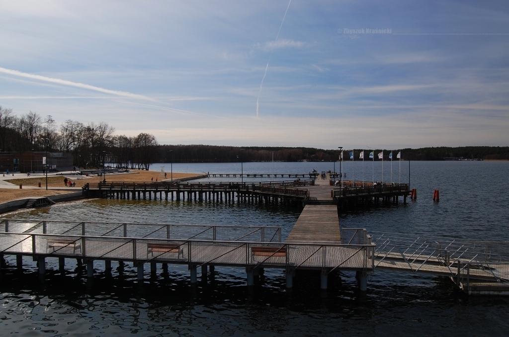 Warmia na majówkę /1/. Jezioro Ukiel i plaża miejska w Olsztynie