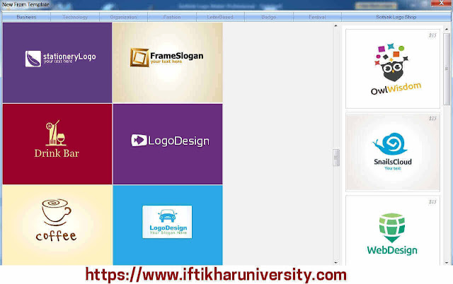 Sothink Logo Maker Pro, V 4.4, Full Version - Iftikhar University