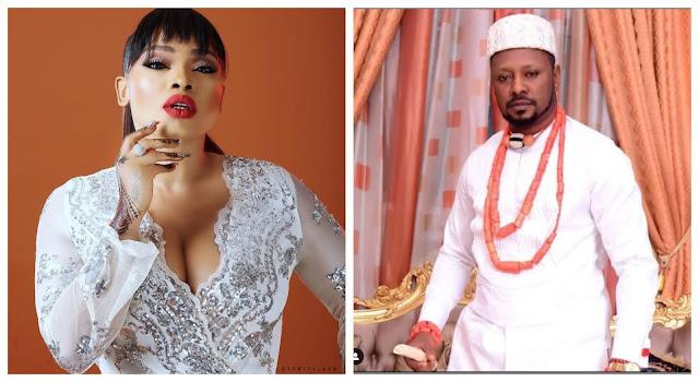 Get off my page. Don't try me- Halima Abubakar slams Tonto Dikeh's ex-boyfriend, Prince Kpokpogri, after he followed her on IG