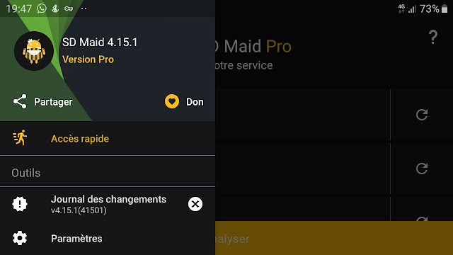 SD Maid - System Cleaning Tool v4.15.1  (Pro) (Dark Venom) Apk لتنظيف هاتفك الاندرويد