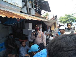 Cegah Covid-19, Polres Pelabuhan Makassar aktif Imbau Masyarakat