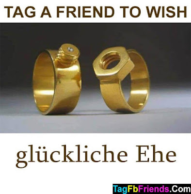 Happy marriage in German language