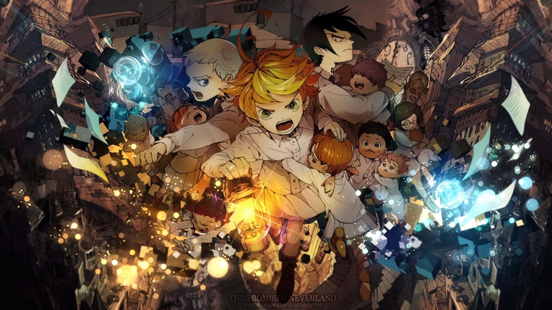 yakusoku no neverland wallpaper