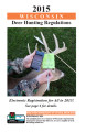 Thumbnail image of the Wisconsin Deer Hunting Regulations document for 2015
