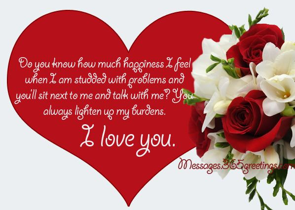 valentines day card messages for her in english valentines card messages