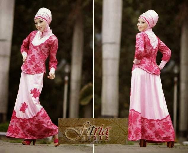 Model Baju Muslim Brokat Remaja Terbaru