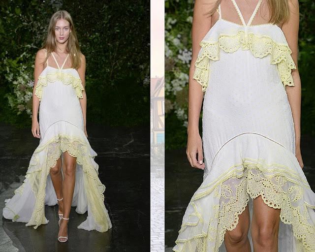 Модное платье на лето