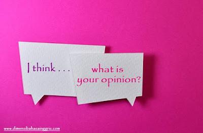 Penjelasan, Contoh Dialog, Serta Latihan Soal Materi Asking and Giving Opinion