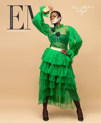 #BBNaija star Alex Asogwa Exquisite Magazine cover 2019