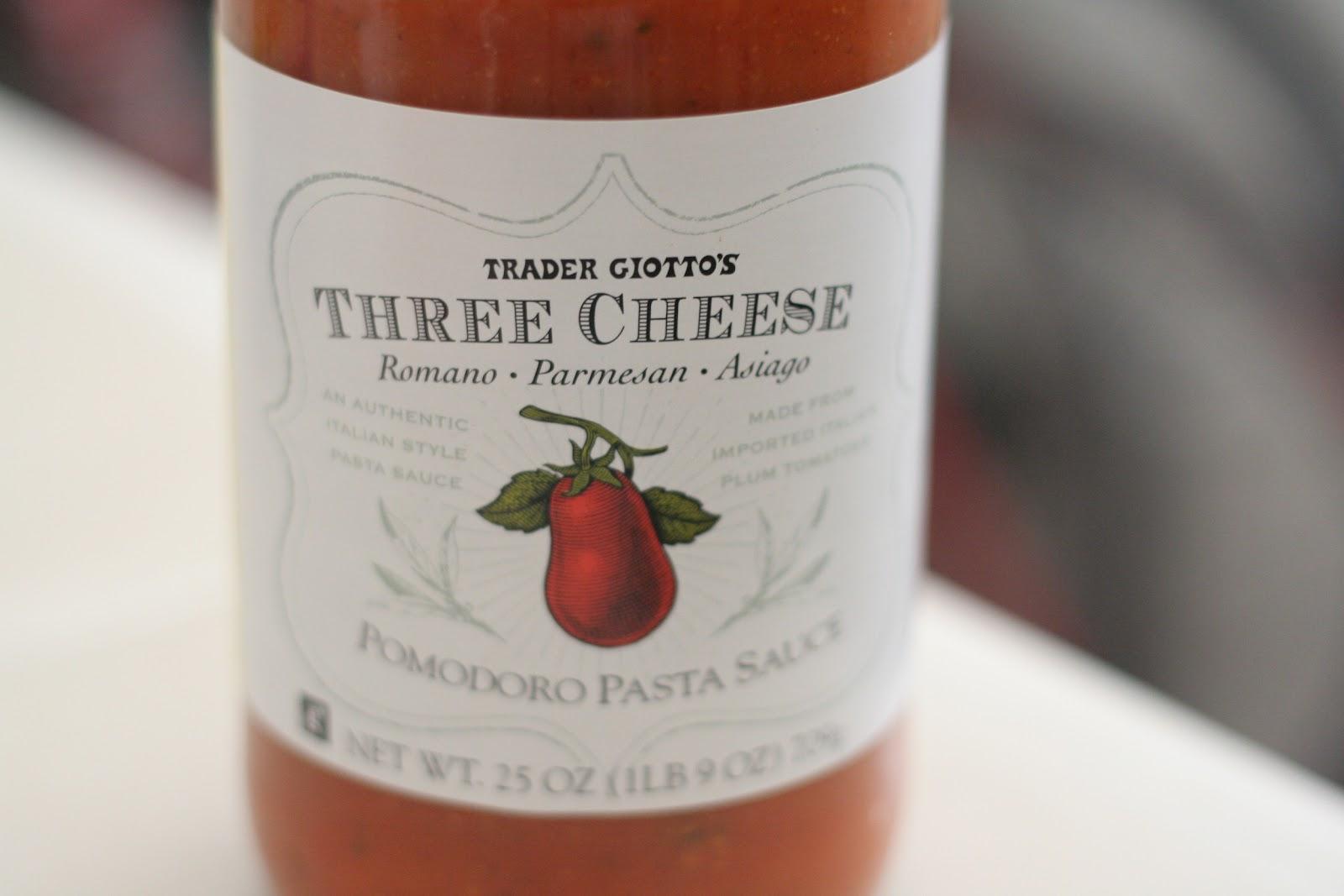 Image result for trader joe's three cheese pasta sauce
