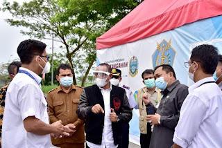 Gubernur Edy Rahmayadi Minta Ada Tim Terpadu di Pos Pemeriksaan Covid-19 di Bandara Kualanamu