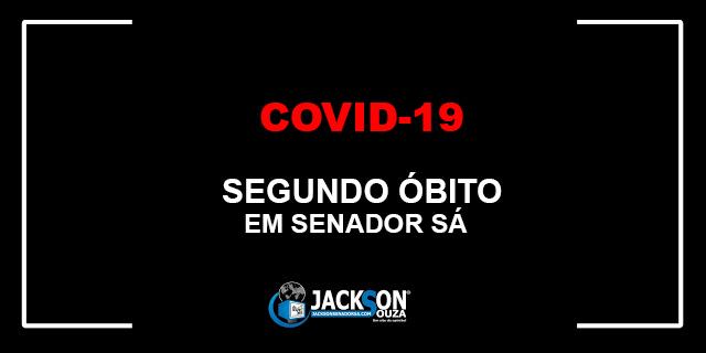 Senador Sá registra segundo óbito por covid-19