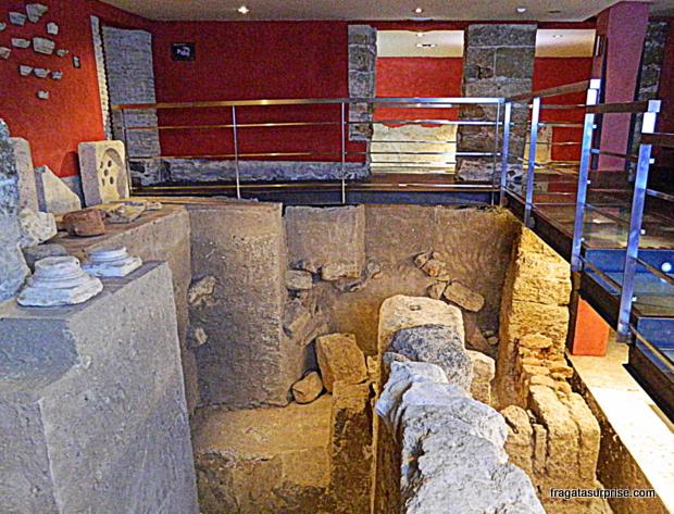 Sítio arqueológico Casa del Obispo - Cádiz - Andaluzia