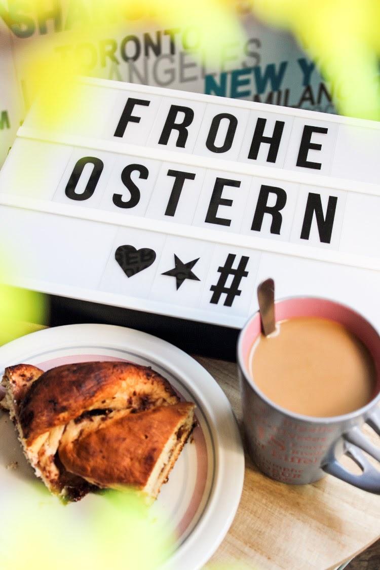 Media Monday, Media Monday Ostern, Frohe Ostern, Osterzopf Rezept