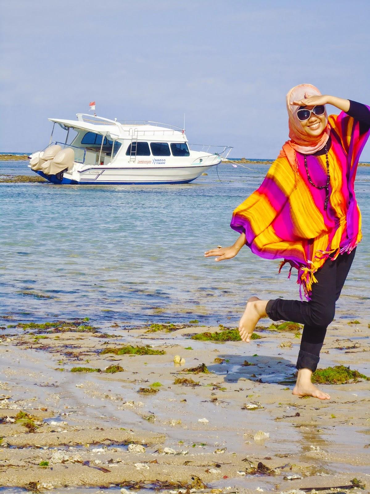 Gaya Busana Hijab Ke Pantai Hijab Style 6