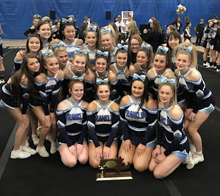 FHS Cheerleaders - video from South Regional Championship