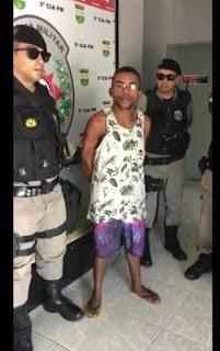 Em Cruz do Espírito Santos preso foragido de presídio da cidade de Guarabira
