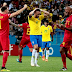 Belgium use daring and intelligence to outwit Brazil in thriller (Brazil OUT)