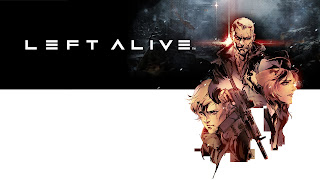 Left Alive Video Game Logo Wallpaper