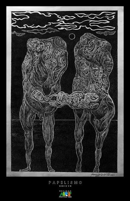 Papelismo Boceto Magsing-Irog by Pinggot Zulueta at Ortigas Art Festival 2020