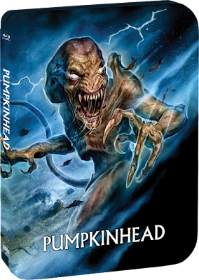 Scream Factory's Limited Edition Steelbook of PUMPKINHEAD!