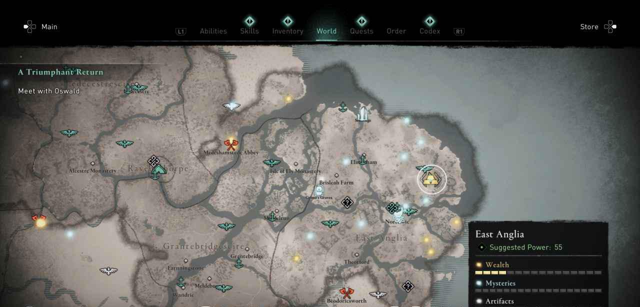 Ingot 36 Map