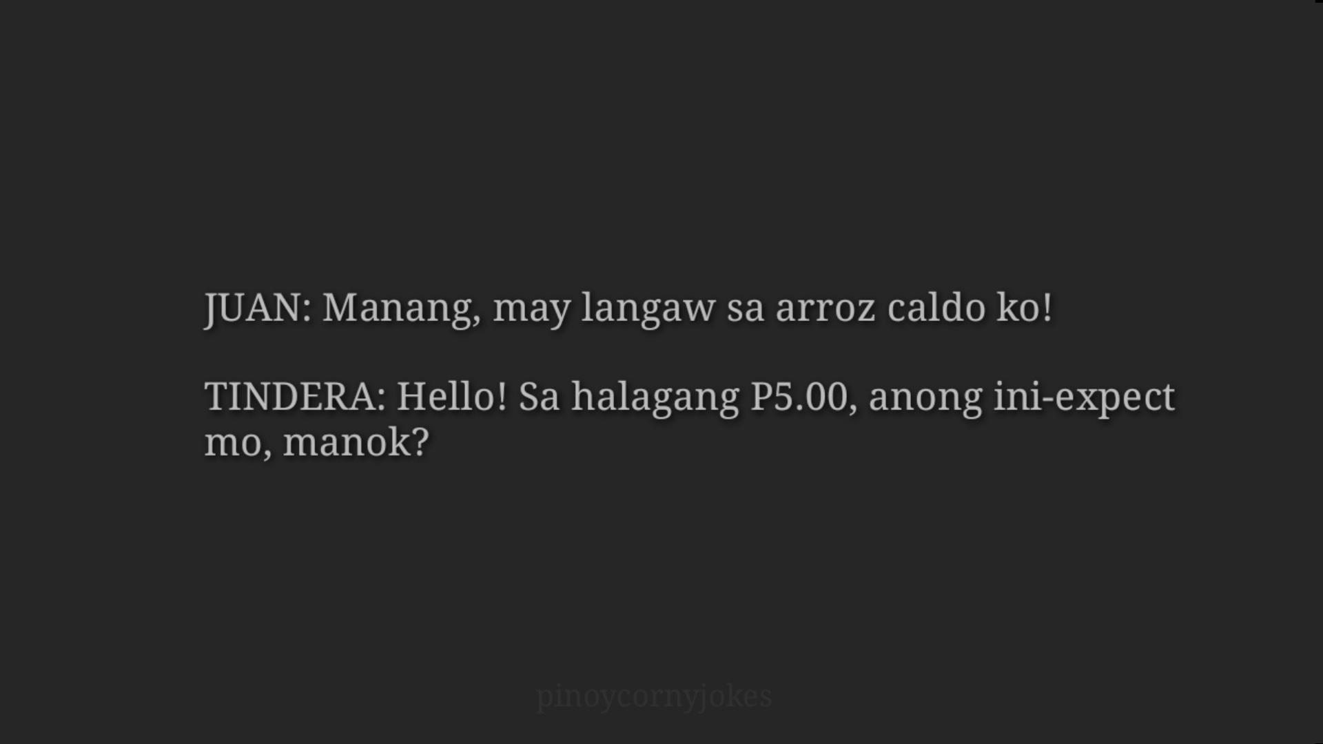 Arroz Caldo - Pinoy Jokes 2021