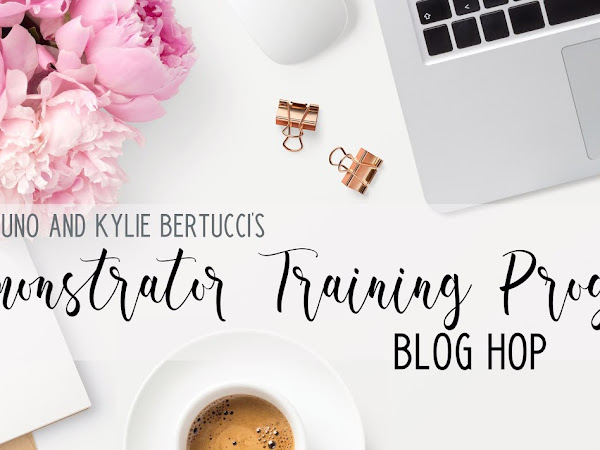 Kylie's Demonstrator Training Program Blog Hop October 2020