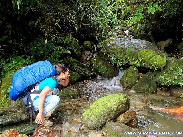 Mt. Halcon water source