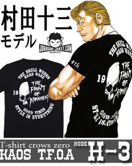 jas exclusive t shirt crows zero  tfoa (h 3)